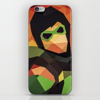 dc comics iPhone & iPod Skins featuring DC Comics Green Arrow by Eric Dufresne