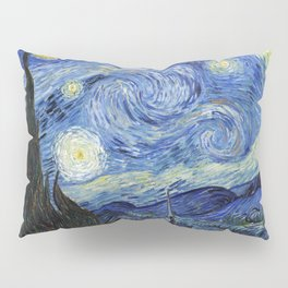 Starry Night by Vincent Van Gogh Pillow Sham