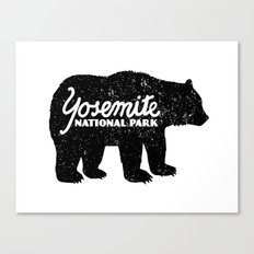 Yosemite Bear Canvas Print
