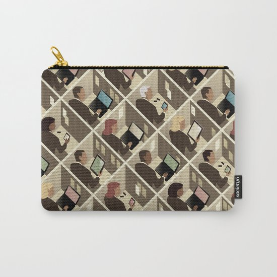 Cubicles Carry-All Pouch
