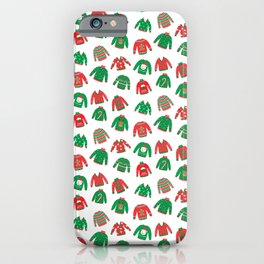 Cozy Chritmas Jumpers iPhone Case