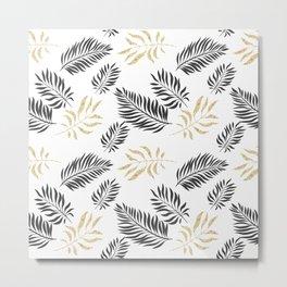 Luxury Gold Pattern Metal Print