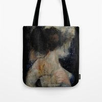 imagerybydianna Tote Bags featuring apophrades by Imagery by dianna