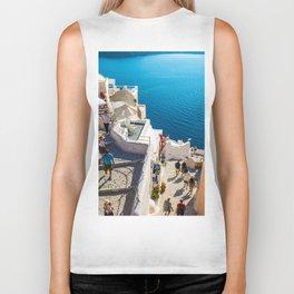 Oia,Santorini Biker Tank
