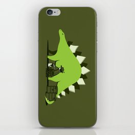 Crude oil comes from dinosaurs iPhone Skin