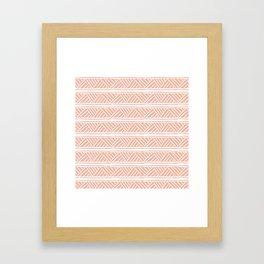 Millennial Mudcloth Framed Art Print