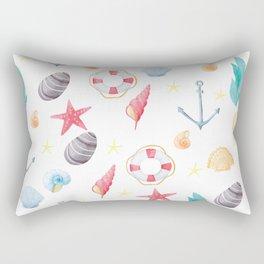 By the Sea Shore Rectangular Pillow