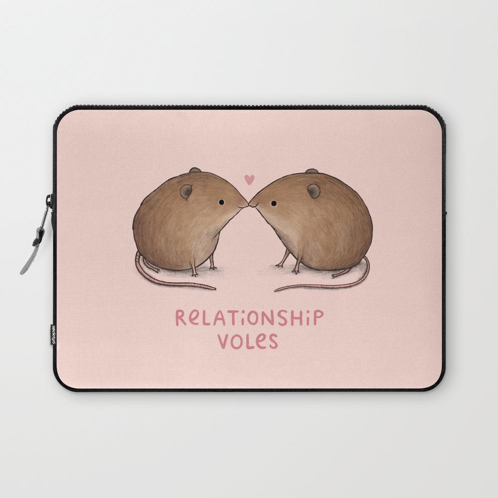 Relationship Voles Laptop Sleeve LSV8847309