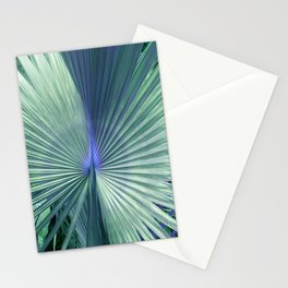 peacock palm Stationery Cards
