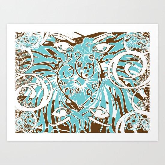 Look of Hearts Art Print
