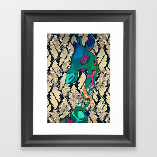GEE WIZZ Framed Art Print