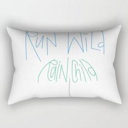 Run Wild Seattle Rectangular Pillow