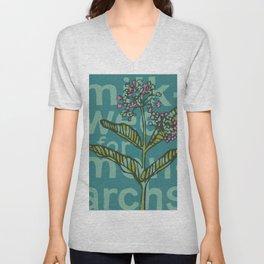 Milkweed for Monarchs Unisex V-Neck