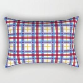 Marigold Plaid Rectangular Pillow