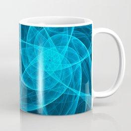 Tulles Star Computer Art in Blue Coffee Mug