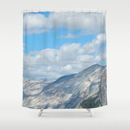 Cool Colours on El Capitan Shower Curtain