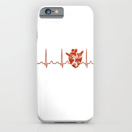 Biomedical Engineer Heartbeat iPhone Case