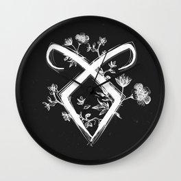 Angelic Rune Wall Clock