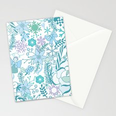 Bright xmas pattern Stationery Cards