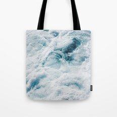 sea - midnight blue storm Tote Bag