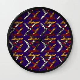 TYPOGRAPHY TTY N21 Wall Clock