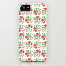 Wild with Wildflowers iPhone Case