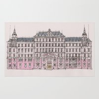 budapest Area & Throw Rugs featuring Grand Budapest by Imogan T