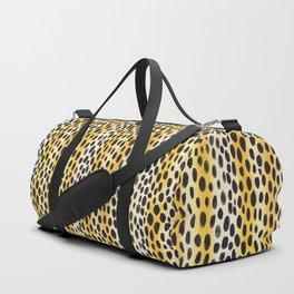 Cheetah Skin Duffle Bag