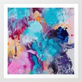 Beautiful Accidents (Bright Beauty) Art Print
