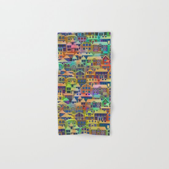 Fairytale City #2 Hand & Bath Towel