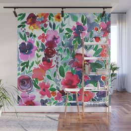 Evie Floral Wall Mural