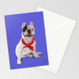 Frenchie (Colour) Stationery Cards