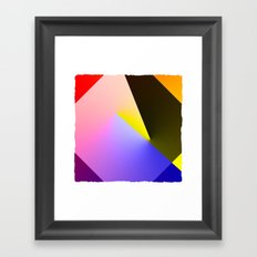 Expressionist Cubes II  Framed Art Print