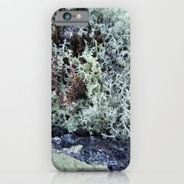 Moss texture iPhone Case