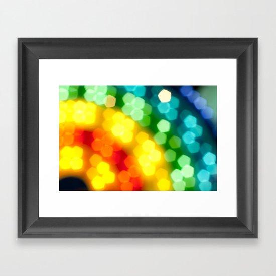 Rainbow! Framed Art Print