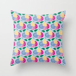 Floral Flowers Throw Pillow