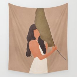 Shade of a Leaf Wall Tapestry