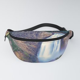 Lower Falls Yellowstone National Park United States Ultra HD Fanny Pack