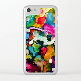 Layers Upon Layers Clear iPhone Case