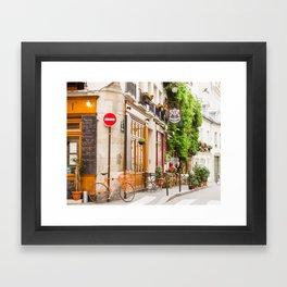 On Ile Saint-Louis Framed Art Print