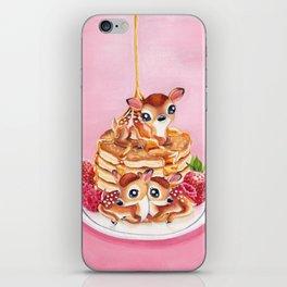 Three Pancake Deer iPhone Skin