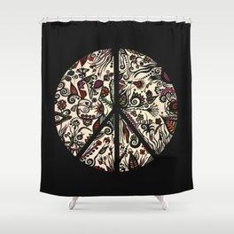Peace Garden Shower Curtain