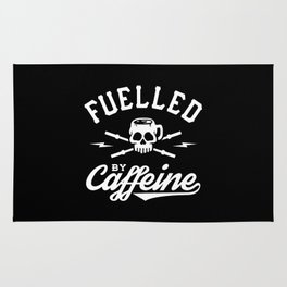 Fuelled By Caffeine Rug
