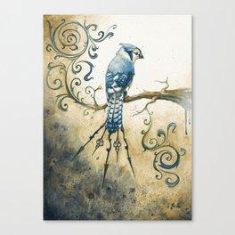 Something Borrowed, Something Blue Canvas Print