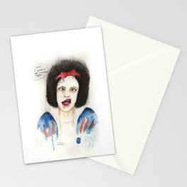 Poisoned apple Stationery Cards