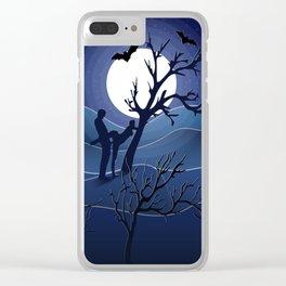 Night sex Clear iPhone Case