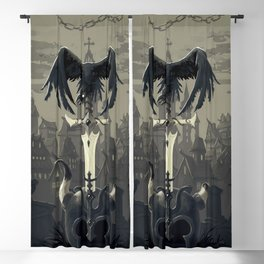 Dark Times Blackout Curtain