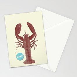 Rock Lobsta Stationery Cards
