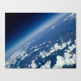 infinite space Canvas Print