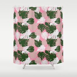Camo Palm No.7 Shower Curtain